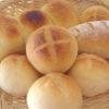 シンプルな丸パンから